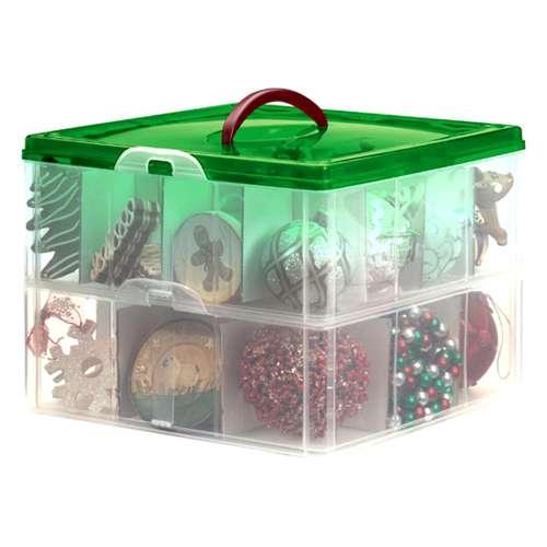 Plastic Christmas Ornament Storage