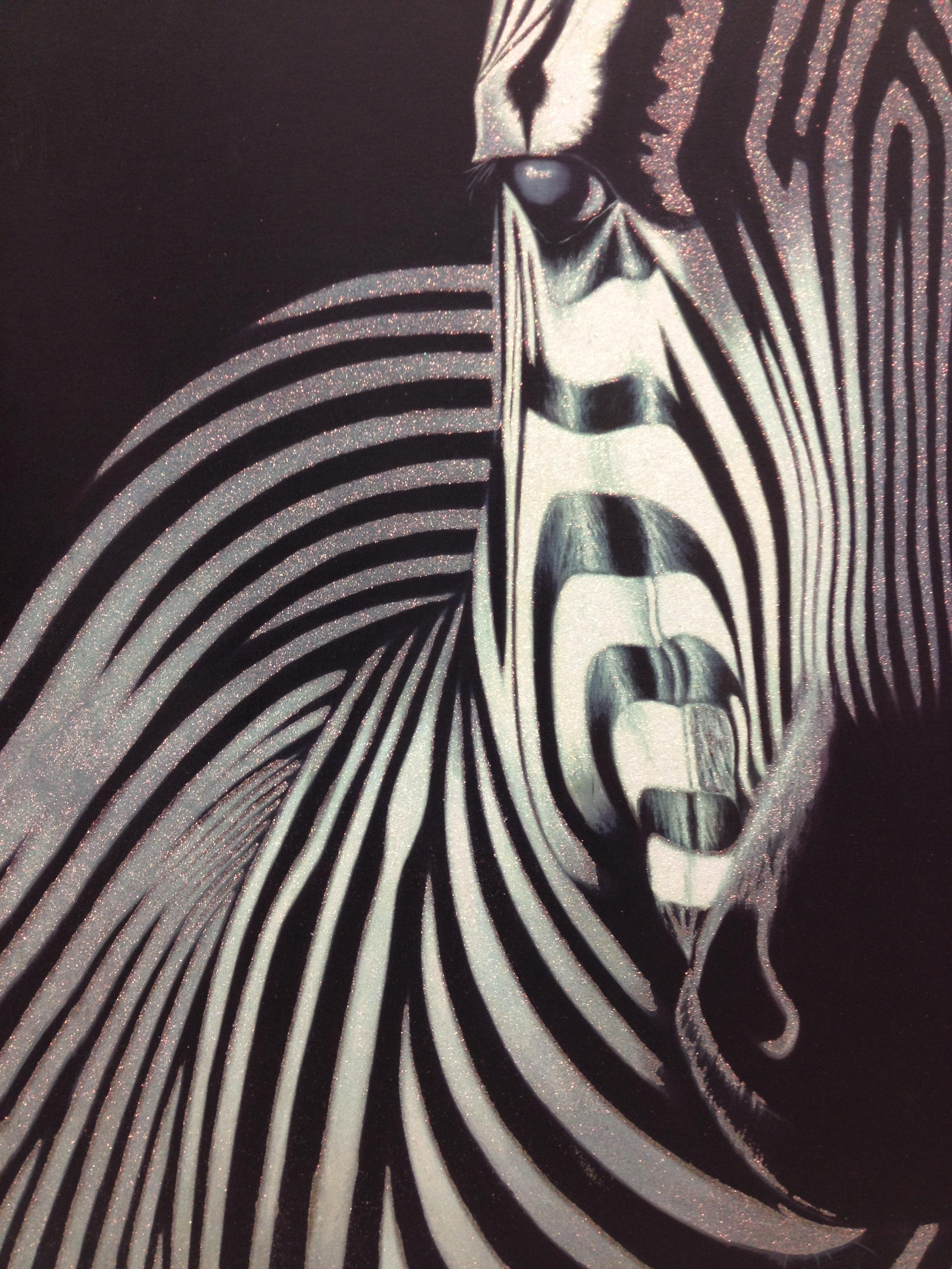 Zebra face profile - photo#20
